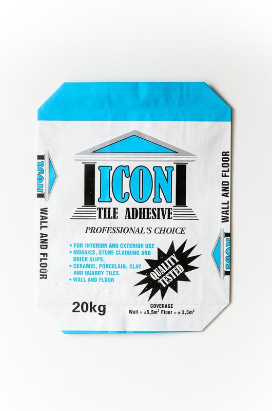 taurus packaging    tile adhesive